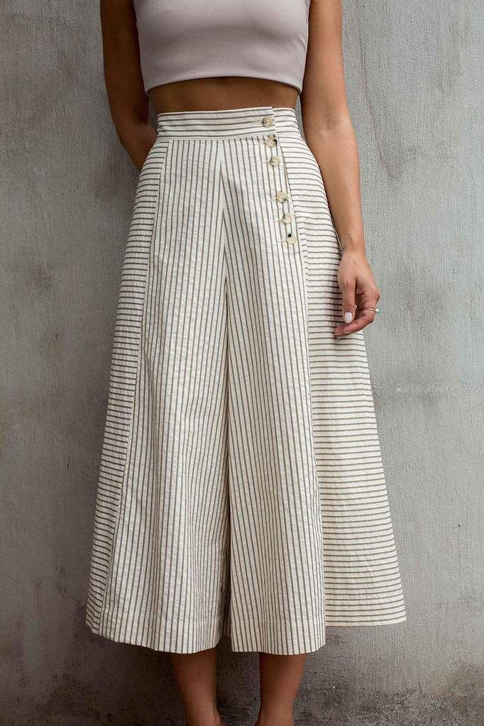 slimming culottes