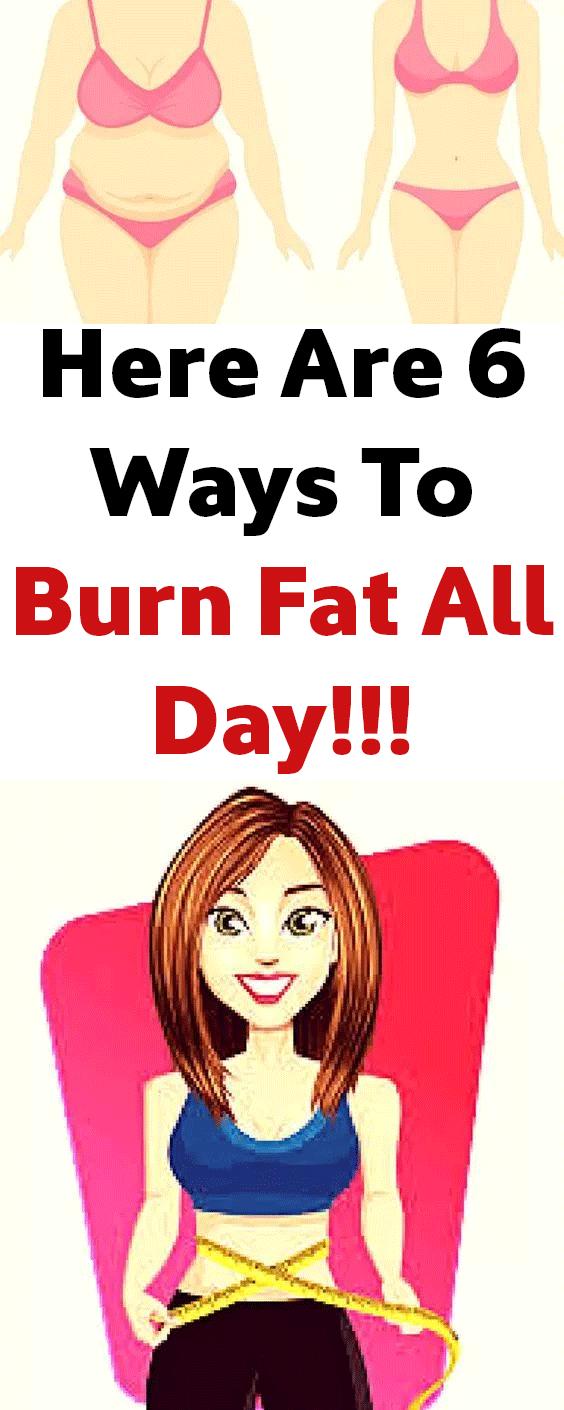 burn fat tips