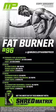musclepharm fat burner review