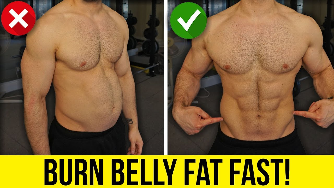 burn fat get abs