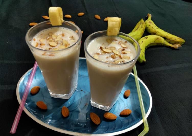 kaalulangus banana shake retseptid