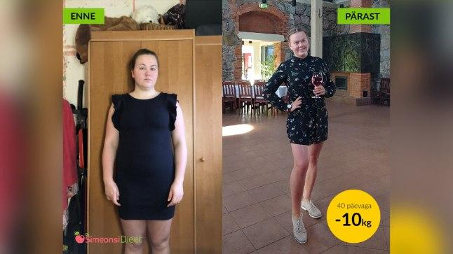 kiire kaalulangus 20 naela 10 kg kaalulangus 4 kuu jooksul